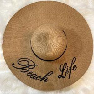 Beach Life Summer Hat